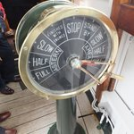 Ships Telegraph onboard the Shieldhall