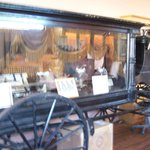 Old hearse in Birdcage.