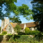 VIllage of Hambleden church