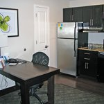 desk/eating table in kitchen/livingroom