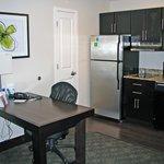 desk/eating table in kitchen/livingroom