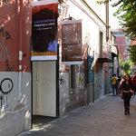ingresso da via Costantinopoli