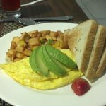 California Omelet at Hotel Lobby Restaurant