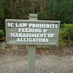 Love this sign.  It sits by the bike path leading to the beach.