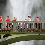 Benson Footbridge at Multnomah Falls in Oregon