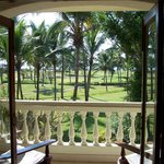 View from Suite, Taj Exotica in Goa, India