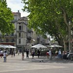 Place De L'Horloge in front of Hotel De L'Horloge, Avignon, France
