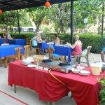 Tavolini esterni ristorante