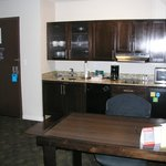 "handicap (""assessable"") kitchen does not have full size refrigerator nor coat closet as other ro"