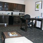 "handicap (""assessable"") great room has small undercounter refrigerator"
