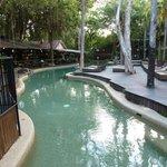 pool looking towards the bar