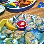 Oysters & Shrimp.