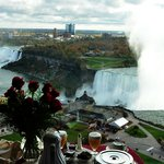 View from Our Room, Niagara Falls Marriott Fallsview Hotel, Canada