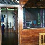 Porch, kitchen