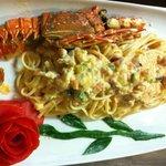 Linguine Don Corleone (Lobster pasta)