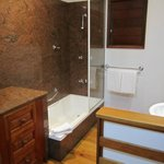bathroom in pandanus bungalow