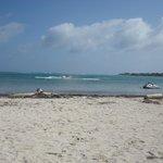 vista desde la costa