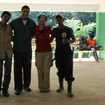 Our guides with us when we finished our trek.