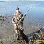 A Lady, Her Shotgun, Her 2 yr old Hunting Dog-Ruger, & a Successful Duck Hunt