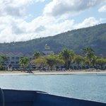 Ocho Rios Bay with hotel