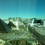 View from room. North up the strip.