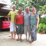 Tony, Liz & Gary. Melissa