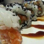 salami sushi roll