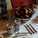 Nuestro desayuno-buffet