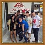 The friendly staffs of Link Corner Hostel, Ms Che and Ms Moni