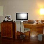 Habitación de lujo escritorio
