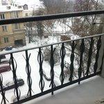 nossa varanda do nosso quarto