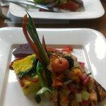 Organic Salmon and Lamb Rack of Ribs