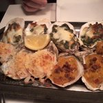 OYSTERS, every which way but RAW :)