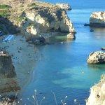 Praia Dona Ana côté droit