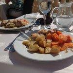 Lapin au vin blanc, avec oignons carotte et pomme de terre :)