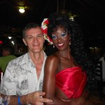 С доминиканской красавицей