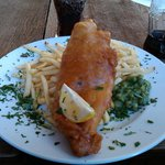 Fish & Chips at the Old Abbey