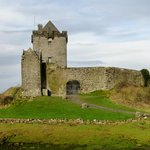 Duinguaire Castle Built in 1520 on Galway Bay