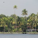 Kovilakam seen from the lake