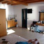 kitchen area - not much storage though