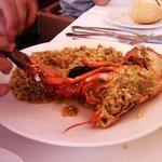 espectacular arroz con bogavante