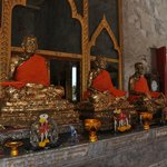 buddas in temple