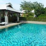The pool (very quiet!)