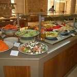 Salad buffet selection