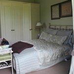 Garden Room - plush bed!
