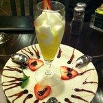 Limoncello Semifreddo dessert