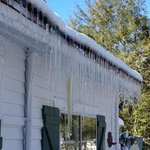 These icicles are real!