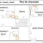 plan du RdC et de votre lieu de séjour
