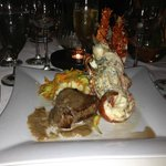 Surf & Turf Romantic Dinner Menu