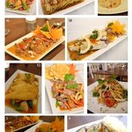 Mouth-watering dishes